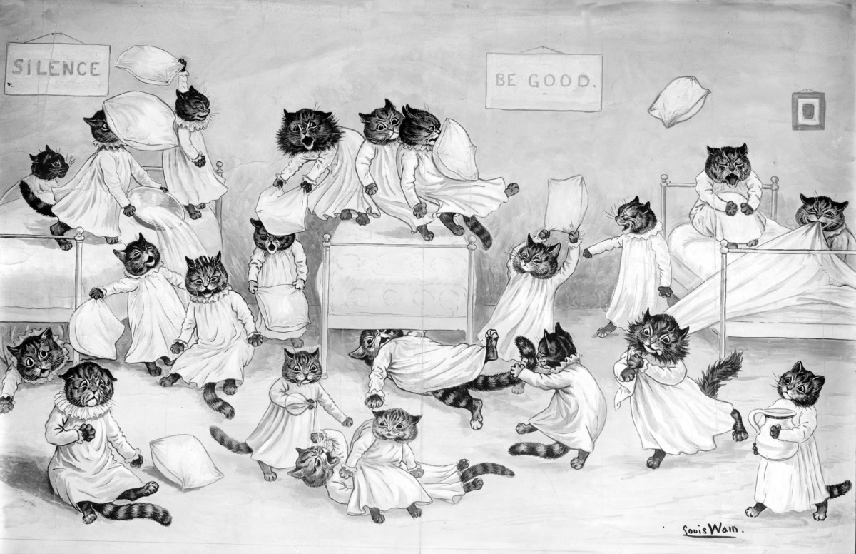 louis-wain-cat-art
